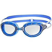 Zoggs Predator Swimming Goggles with Clear Anti-Fog Lenses