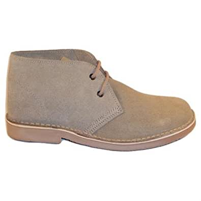 Roamers Real Suede Classic Desert Boot Camel 3