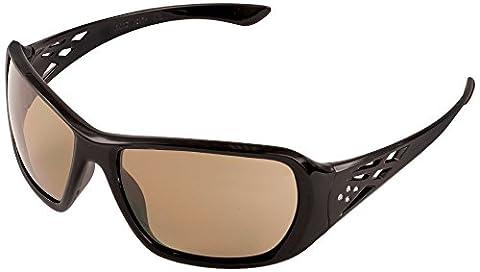 ERB Artikelnummer 17955Rose Sicherheit Brille mit schwarzem Rahmen & Brown Smoke Objektiv (12Pack)