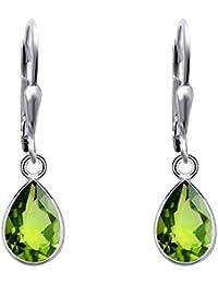 c66cc405f Green Earings For Womens|Peridot Earrings For Women|Peridot  Jewellery|Nickel Free Earrings|Sterling Silver Earring Set|Green Earring…