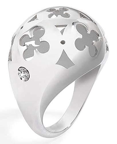 Morellato Ducale - Anillo acero inoxidable diamante