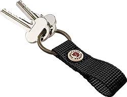 Fjällräven Kånken Keyring Schlüsselanhänger, 10 cm, Black