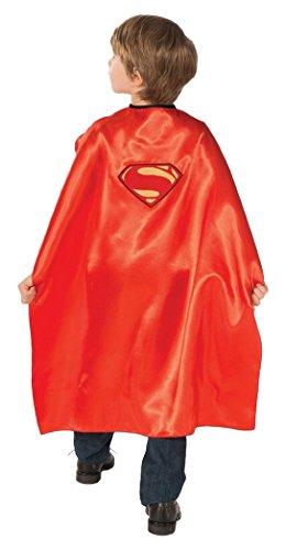 Superman und Villian Wendeumhang. Kind einer Größe. Ein Umhang (Superman Mann Of Steel Kostüm Cape)