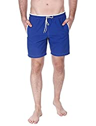 Zobello Mens Swim Shorts (41001A_Royal _Small)