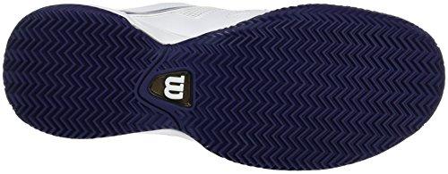 Wilson Wrs323460e, Chaussures de Tennis Femme Multicolore (White / Pearl Blue / Astral Aura)