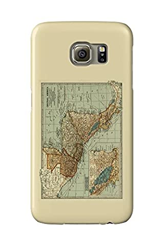 Central America - (1902) - Panoramic Map (Galaxy S6 Cell Phone Case, Slim Barely There)