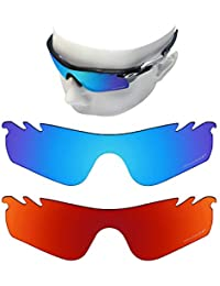 0ffc3e1860629 OOWLIT 2 Pair Replacement Sunglass Lenses for Oakley RadarLock Path Vented  POLARIZED