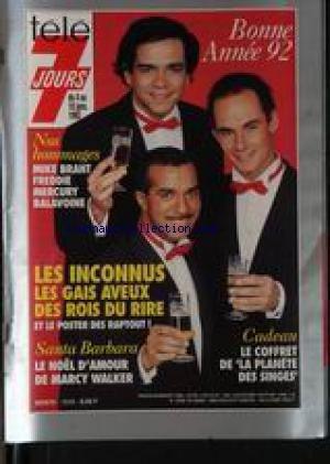 Hommage A Balavoine - TELE 7 JOURS [No 1649] du 04/01/1992
