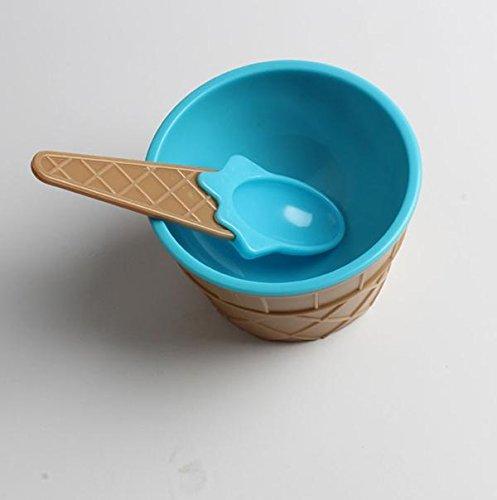 NINGSANJIN 1 STÜCK Kinder eisbecher eisbecher Paare schüssel Geschenke Dessert BU 1PC Kids Ice Cream Bowls Ice Cream Cup Couples Bowl Gifts Dessert BU