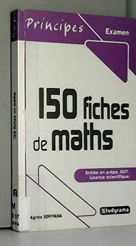 150 fiches de maths par Agnès Sofiyana