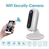 WiFi IP Camera, Accfly 1080P HD Wireless Home Security Surveillance Camera Indoor Camera with 166°Wide Angle, Night Vision, Two-Way Audio, PIR Motion Detection, Remote Monitor for Home/Office/Baby/Pet with iOS Android App -Cloud Service Available