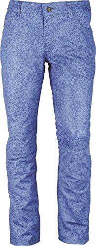 Fuente Leather Wears -  Pantaloni  - Uomo Cristal blue
