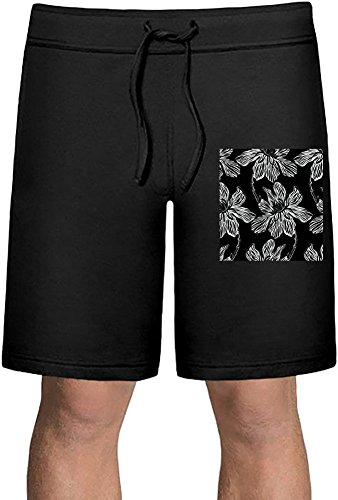 Flowers Print Sport Sommer Shorts XX-Large