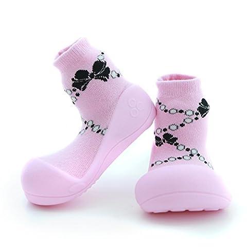 Attipas , Chaussures premiers pas pour bébé (fille) rose rose 21.5