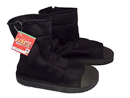 sdwkit-naruto-shippuden-cosplay-accessory-female-black-ninja-shoes-sandals