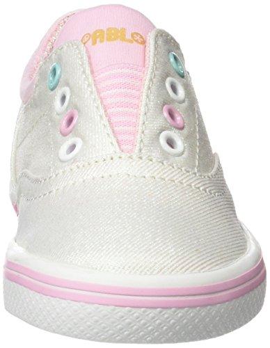 Pablosky Mädchen 941100 Sneaker Weiß