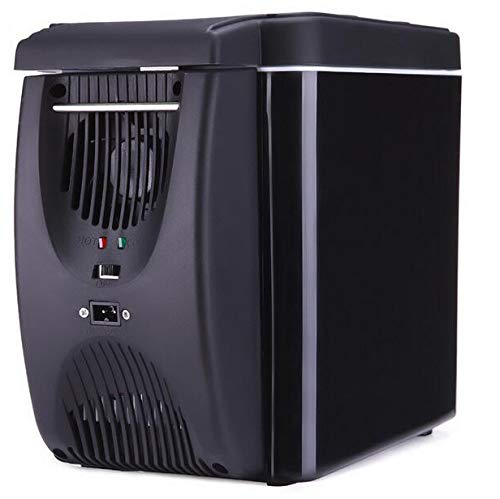 YSYW Frigorifero per Auto, Frigorifero per Auto 12 V Car Cooler Warmer 6L Electric Cool Frigo Portatile Travel Cooler Box