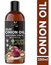 Luxura Sciences Onion Hair Oil 250 ml with 14 Essential Oil