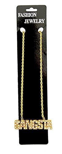 Halskette - Gangsta - mit Schmucksteinen