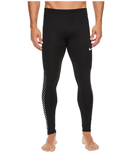 Nike Herren Power Flash Lauf Tight, Schwarz, M/44/46 (Nike-flash-hosen)