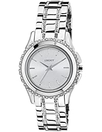 (CERTIFIED REFURBISHED) DKNY Analog Silver Dial Women's Watch - NY8698#CR