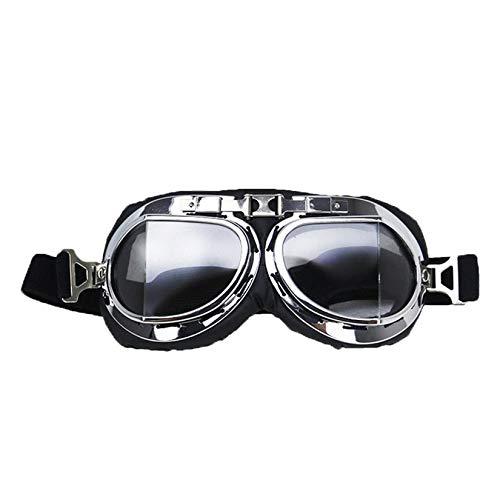 Wenwenzui-DE Motorradbrillen, die Auge tragen Motorrad Winddichte Brille Sportbrillen