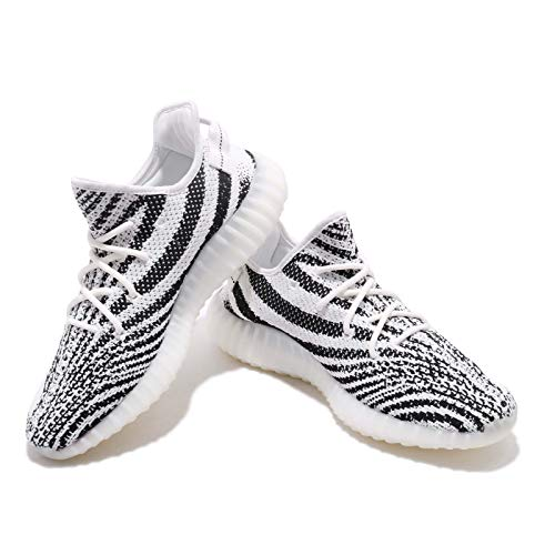 "Adidas Yeezy Boost 350 V2 ""Zebra"" – WHITE/CBLACK/RED Trainer Size 10 UK - 7"