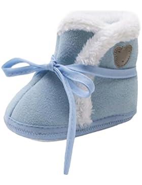 Xshuai Neugeborene Baby Mädchen Jungen Bär Druck Herbst Winter Soft Sole Stiefel Prewalker Warm Schuhe