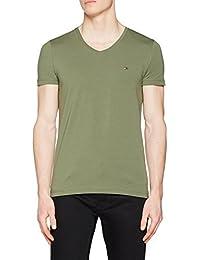 Tommy Hilfiger Men's Stretch Slim Fit V-Neck Tee T-Shirt