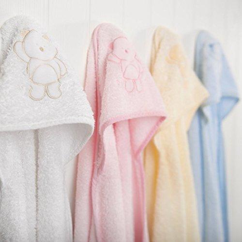Imagen 3 de Clevamama Splash & Wrap - Toalla para bebés (2 unidades), color rosa