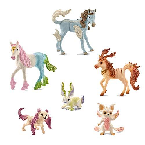 SCHLEICH Bayala großes Set mit 6 Tieren