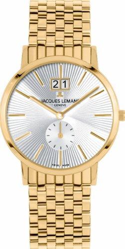 Jacques Lemans Geneve Unisexarmbanduhr Baca G-178F (Lemans Jacques Geneve)