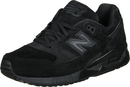 New Balance Homme 530 formateurs, Noir Noir