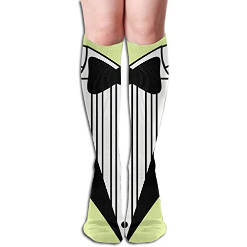 , Tuxedo Knee High Socks, Unisex Tube Compression Thigh Sock Crew Athletic Football Stockings ()