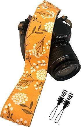 Frühlingsblumen kameragurt für alle DSLR-Kamera. Baumwolle eleganter universal DSLR-Strap, halsschulter kameragurt für Canon, Nikon, pentax, Sony, fujifilm und digitalkamera