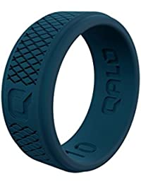 Qalo FOB06 Women's Crossover Silicone Ring