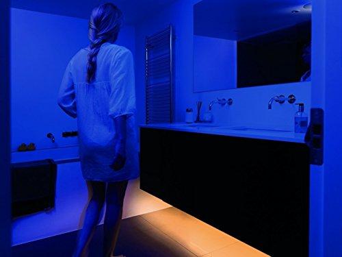 online-leds Bed night light led Strip Light Motion Sensor LED Cot Bed under Cupboard Strip Lighting Kit - Warm White