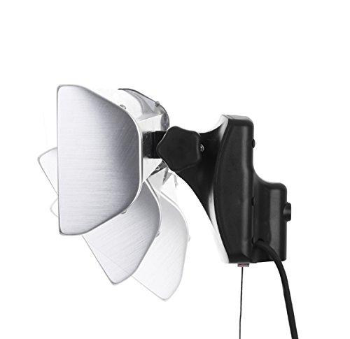Primrose Firefly 1.800 Watt Infrarot-Heizstrahler (Halogen) Terrassenheizung, Wandmontage, inkl. Fernbedienung - 3