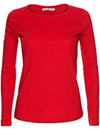 LessThanTenQuid Missloved ® Ladies Womens Plain Long Sleeve Round Neck Top  UK Sizes 8-18 18c822c542b55