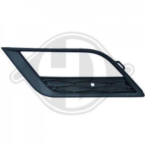 Grille de ventilation, pare-chocs pour Seat Ibiza Limousine/Sportcoupe 12-15 Côté d'assemblage: gauche
