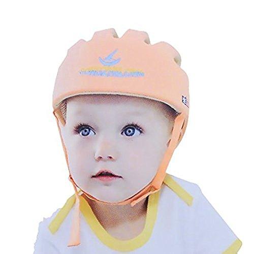 szl Hi8Store Baby Kleinkind Sicherheit verstellbar Helm Kopf Schutz Hat für Walking Geschirre Gr. Einheitsgröße, Orange (Weichen, Austauschbaren Kopf)