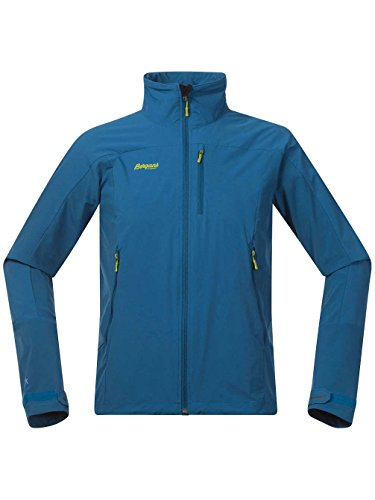 Bergans Torfinnstind Outdoor Jacket deep sea / lime / bleu Taille deep sea/lime