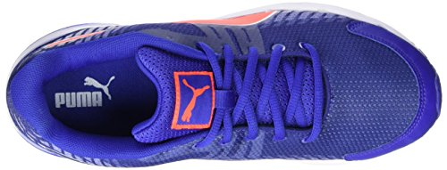 Puma Sequence V2 Wn, Chaussures de Running Compétition Femme Bleu - Blau (Royal blue-red blast-puma White 06)