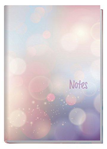 Notizbuch A5 liniert [Bubbles] Trendstuff by Häfft, als Tagebuch, Journal, Ideenbuch etc. nummerierte Seiten