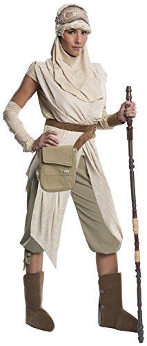 Rubie's Offizielles Star Wars Rey Kostüm Grand Heritage Deluxe für Damen, Größe ()