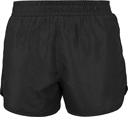 Urban Classics Damen Sportshorts Ladies Sports Shorts, Schwarz (Black 7), 50(Herstellergröße: M)