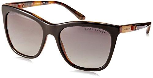 Ralph Lauren Damen 0Rl8151Q 5260T3 55 Sonnenbrille, Schwarz (Topo Black/Jerry Havana/Polargradientgrey),