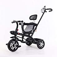 coolbaby kids' bikes children's tricycle outdoor boys and girls children's trolley fashion childre