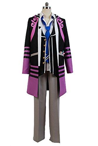 Kamigami no Asobi: Ludere deorum Loki Schiff TEIN Uniform Cosplay Kostüm Herren (Kostüm Cosplay Loki)