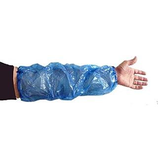 Einweg-Ärmlinge, Schutzkleidung, Blau, 100 Stück